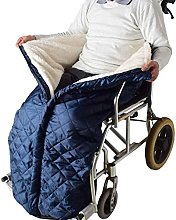 Fhdisfnsk Wheelchair Blanket with Zipper and