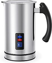 FHJ Milk Frother and Warmer, Electric Milk Steamer
