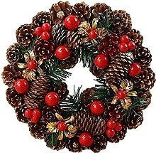 FHKSFJ Artificial Wreath 30Cm Autumn Wreath