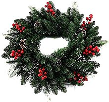 FHKSFJ Autumn Wreath Artificial Wreath 40Cm with