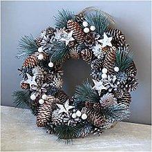 FHKSFJ Autumn Wreath Artificial Wreath Winter