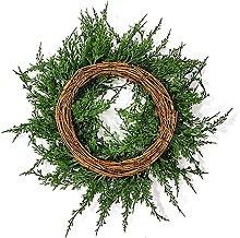 FHKSFJ Christmas Wreath with Pine Cones Christmas