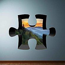 FHMYCSQ 3D Wallpaper Sticker Full Colour Digger