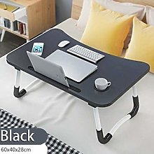 FHT Mobile Lap Table Laptop Desks Wooden Foldable