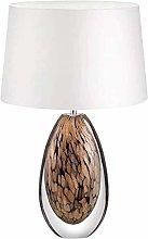 FHUA Ceiling light Glazed Amber Desk Lamp36x60cm