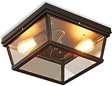 FHUA Ceiling light Industrial Retro Style Ceiling