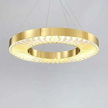 FHUA Ceiling light LED Gold Circle Ceiling Lamp 3