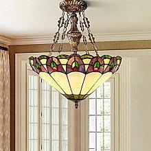 FHUA Ceiling light Mediterranean Colorful Glass