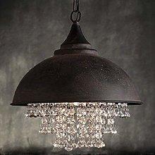 FHUA Ceiling light Modern Vintage Crystal Pendant