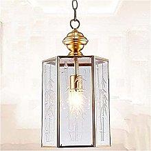 FHUA Ceiling light Polygonal Glass Copper