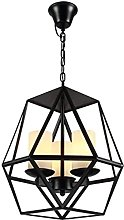 FHUA Ceiling light Restoring Wrought Iron