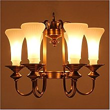 FHUA Ceiling light Soldering Tin Copper Retro
