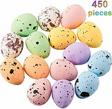 Fiada 450 Pieces Easter Speckled Eggs Decorative