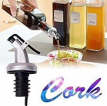 Fiaoen Oil Stopper Pourer Leakproof Bottle Stopper