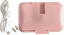 Fiaoen uk Portable Baby Wet Wipes Warmer USB