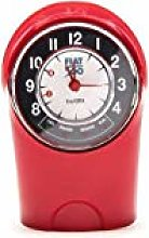 Fiat 500 FIOR12 Tachometer Table Clock, Red, 12.5