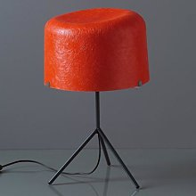 Fibre glass lampshade in red - table lamp Ola