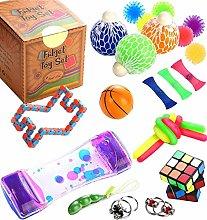 Fidget Toys Cheap Set for Anxiety - 25pcs Pop It