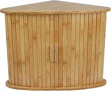 Fidler Bamboo Corner Double Decker Kitchen Storage