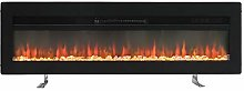 FIDOOVIVIA Electric Fireplace Freestanding
