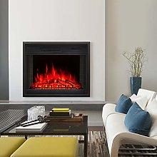 FIDOOVIVIA Electric Fireplace Insert Mounted Fire