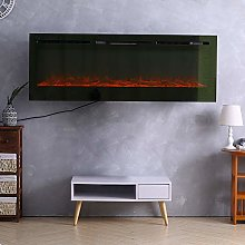 FIDOOVIVIA Electric Fireplace Wall/Insert Mounted