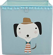 Fieans Collapsible Toys Storage Box Fabric Cube