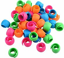 FiedFikt 52Pcs Peels Thread Spool Huggers Prevent