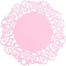 FiedFikt Flower Silicone Tea Coaster Lace Dollies