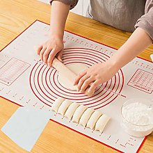 FiedFikt Kitchen Silicone Dough Rolling Mat Pastry