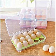 FiedFikt Plastic Egg Holder Tray for Refrigerator