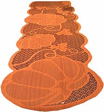 FiedFikt Pumpkin Lace Fireplace Cloth Pumpkin