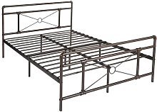 Fielder Kingsize Bed Frame Williston Forge