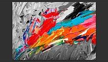 Fiery Bird 2.10m x 300cm Wallpaper East Urban Home