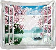 Fiery Tulip Tapestry Hangers Walls| Beautiful