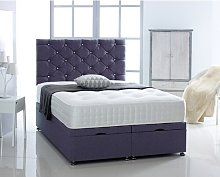 Fife Upholstered Ottoman Bed Ebern Designs Size: