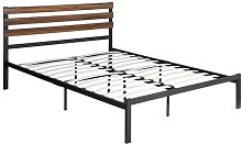 Fifield Bed Frame Williston Forge Size: Kingsize