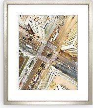 Fifth Avenue New York Framed Print & Mount, 73 x