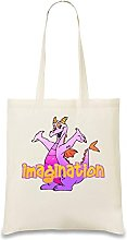 Figment Imagination Custom Printed Tote Bag