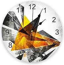 Figure Art Retro Modern Wall Clock For Home Office