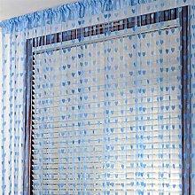 Figutsga Love Heart String Curtain Stylish and