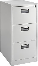 Filing Cabinet with 3 Shelves - grey