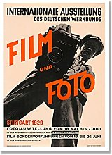 Film and Foto Posters Vintage Cinematography Art