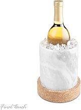 Final Touch Large Marble & Cork Wine Chiller