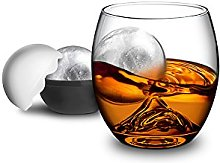 Final Touch On the Rocks Glass & Ice Ball Mould  