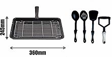Find A Spare Grill Pan Rack with Handle 360 x