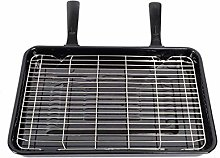 Find A Spare Universal Grill Pan with 2 Detachable