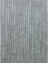 Fine Décor Bergamo Leather Texture Silver/Dark
