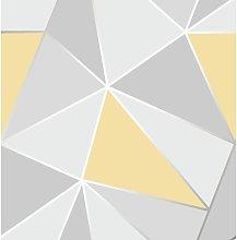 Fine Decor FD41991 UK Apex Geo Sidewall Wallpaper,