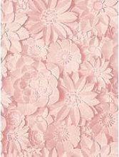 Fine Décor Fine Decor 3D Effect Floral Pink